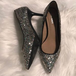 758f01975c61 Old Navy Shoes - New Old Navy Glitter Sparkle Pump Heels